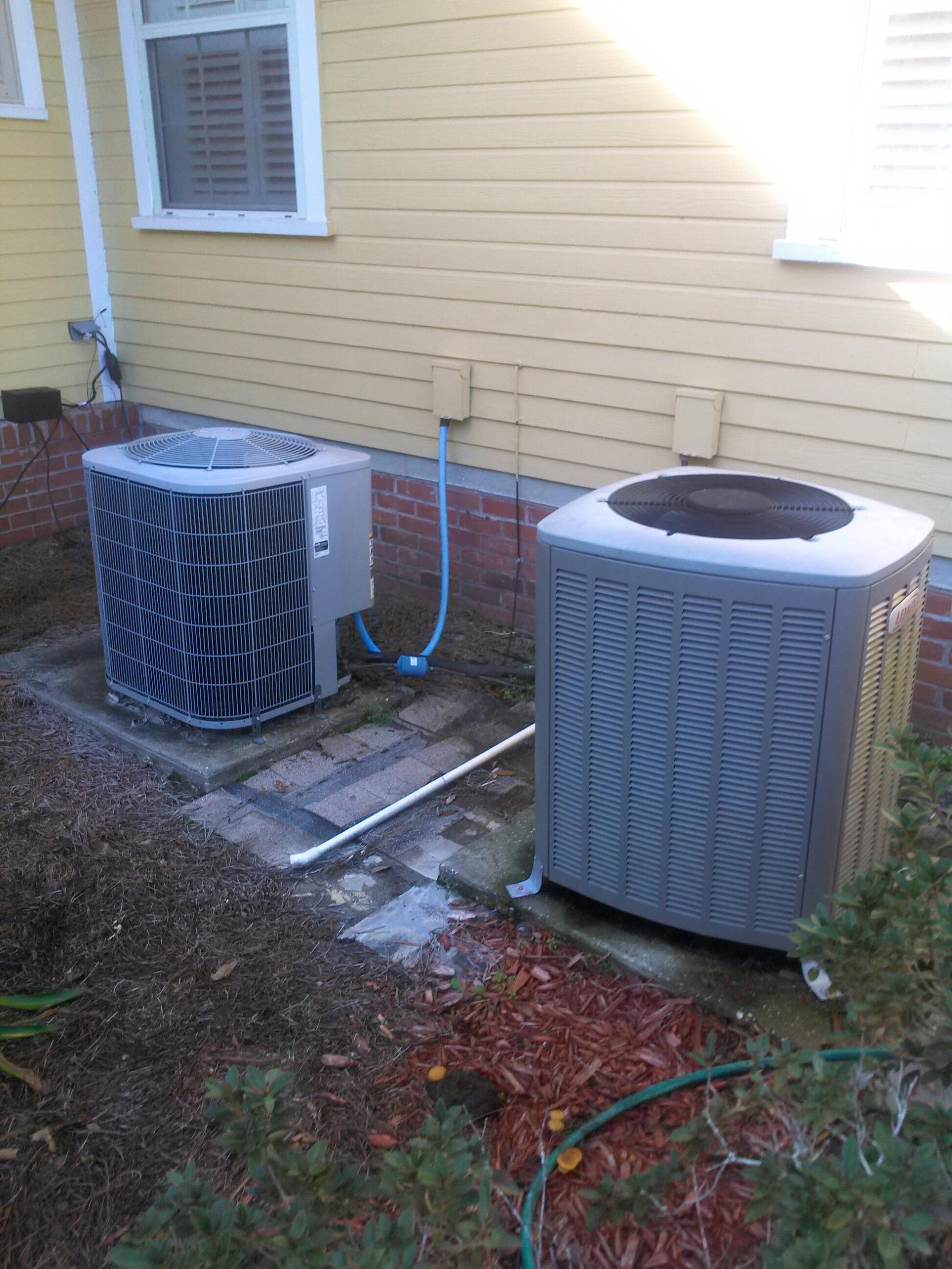 Macclenny, FL - Performed maintenance on three heat pump systems