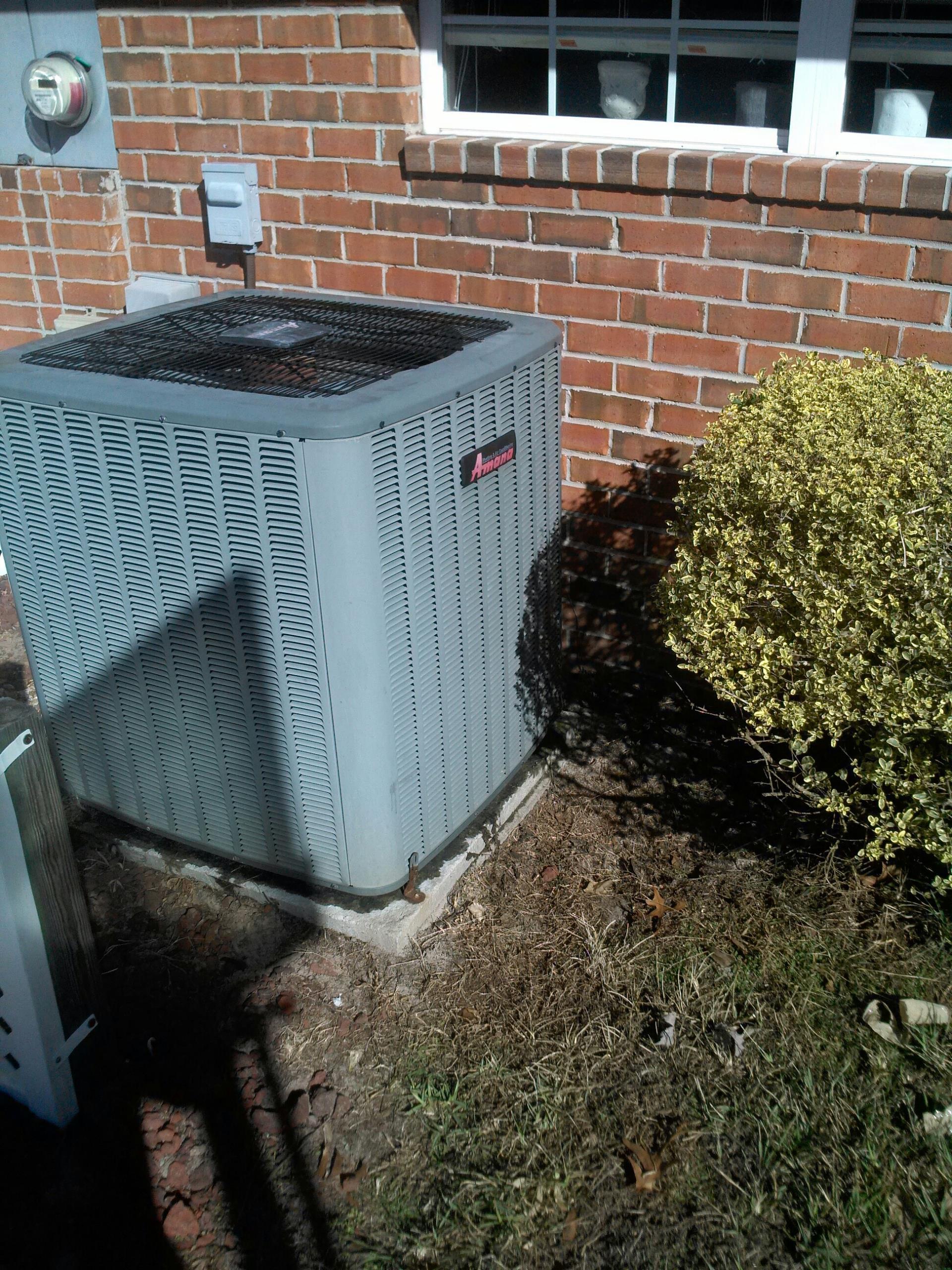 Fruit Cove, FL - AC repair on Amana heat pump system