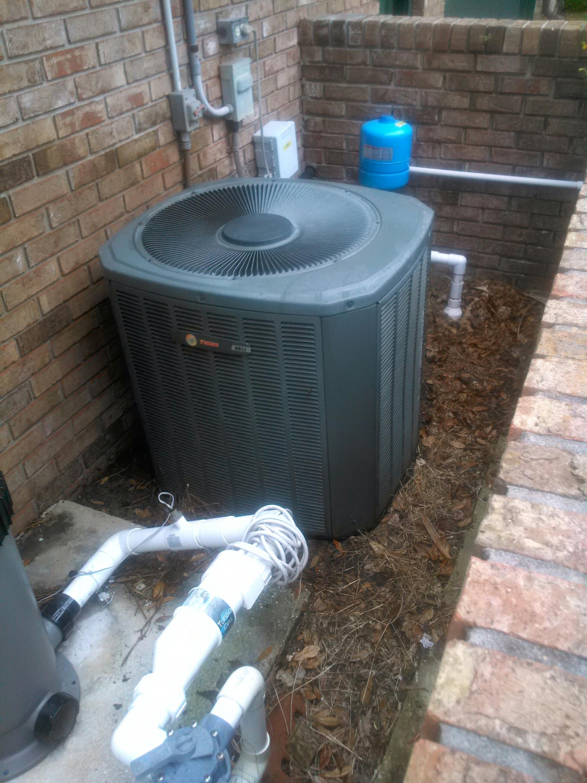 Atlantic Beach, FL - Performed maintenance on two Trane heat pump systems