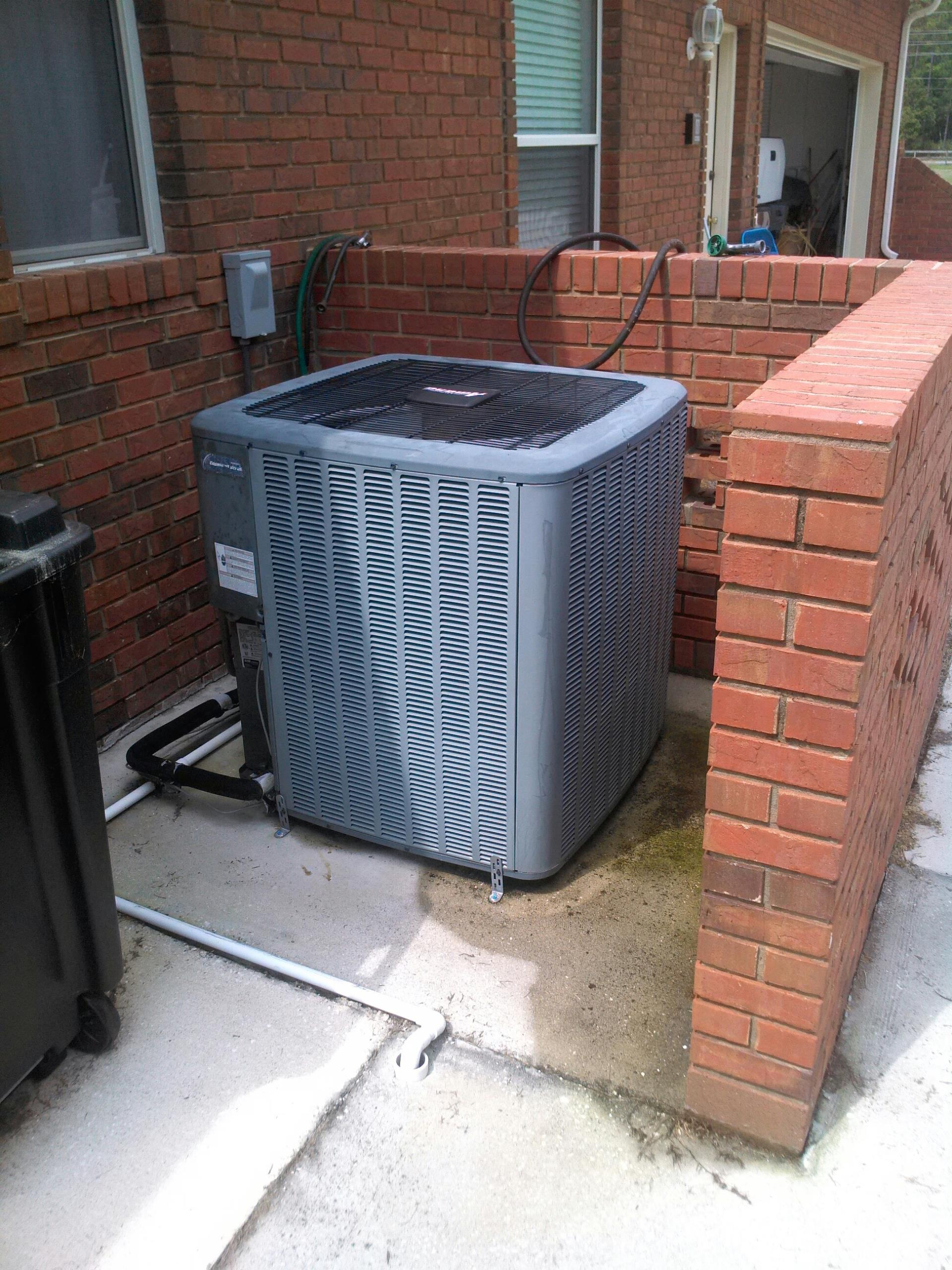 Saint Johns, FL - Performed maintenance on two heat pump systems. One Lennox and one Amana.