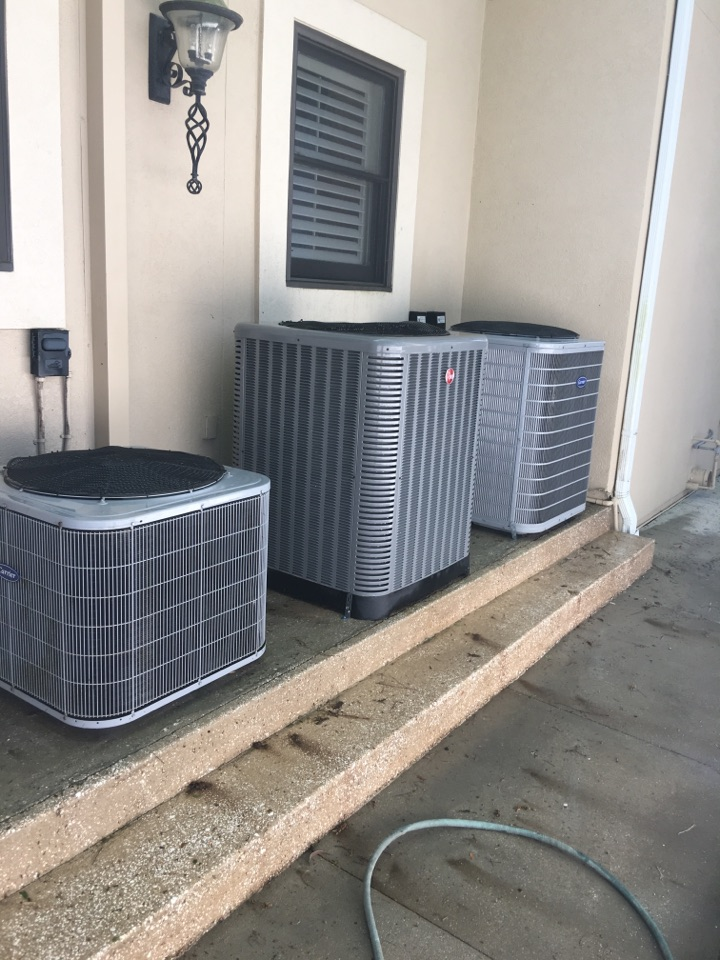 Ponte Vedra Beach, FL - Completed maintence inspection on three heat pumps