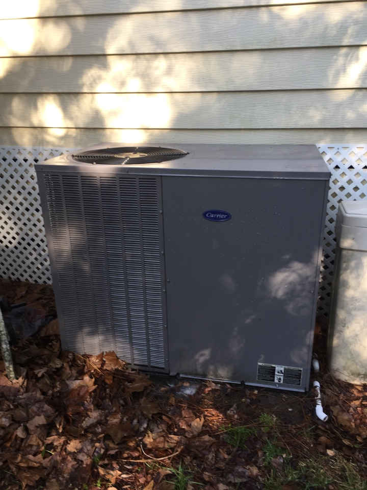 Middleburg, FL - Maintenance on a Carrier package unit