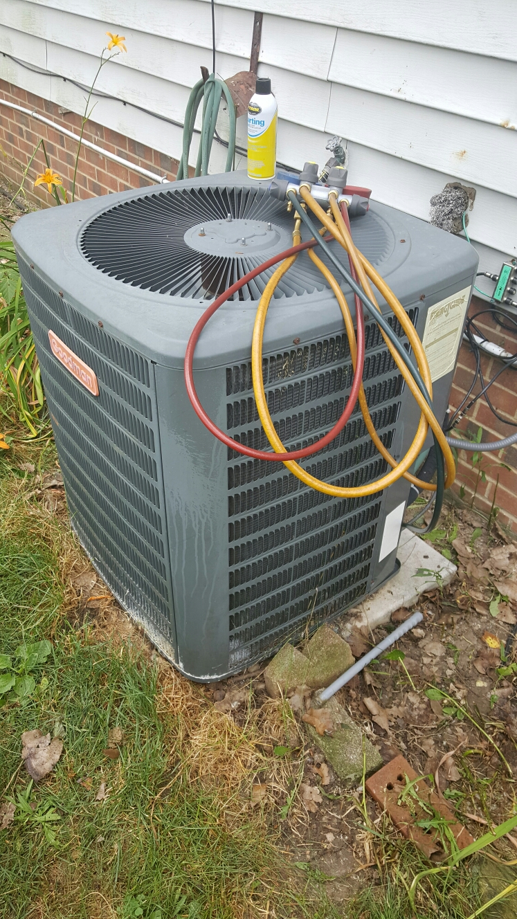 A/C unit cleaned and check