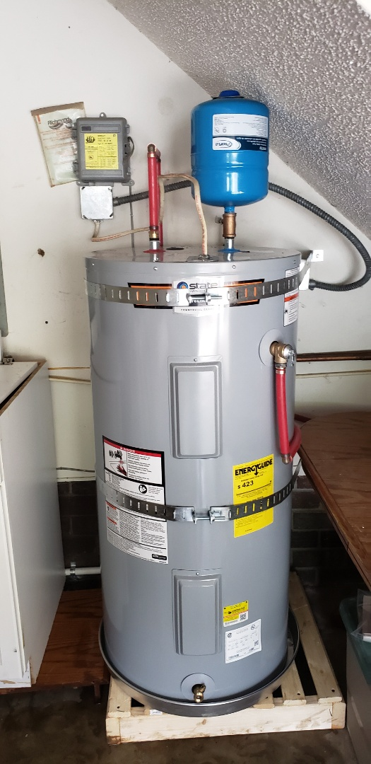 Summerville, SC - Installed new 50 gallon state electric water heater
