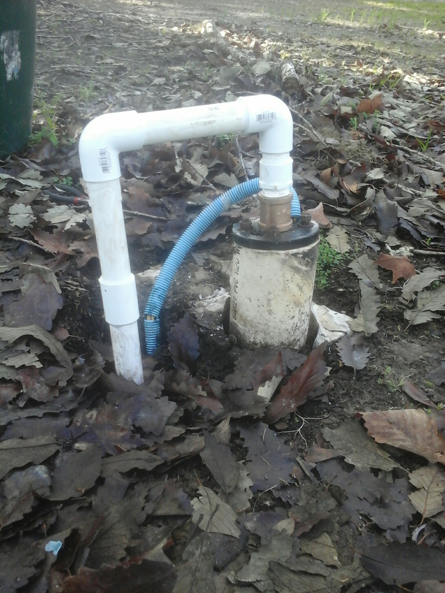 Ravenel, SC - Repair water line above well pump.  Pvc and brass connections.