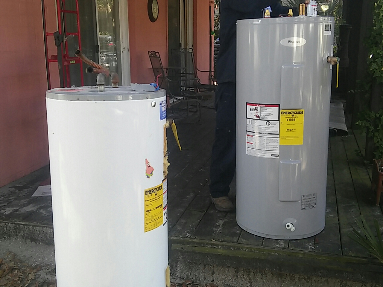 Isle of Palms, SC - Replace water heater with whirlpool water heater