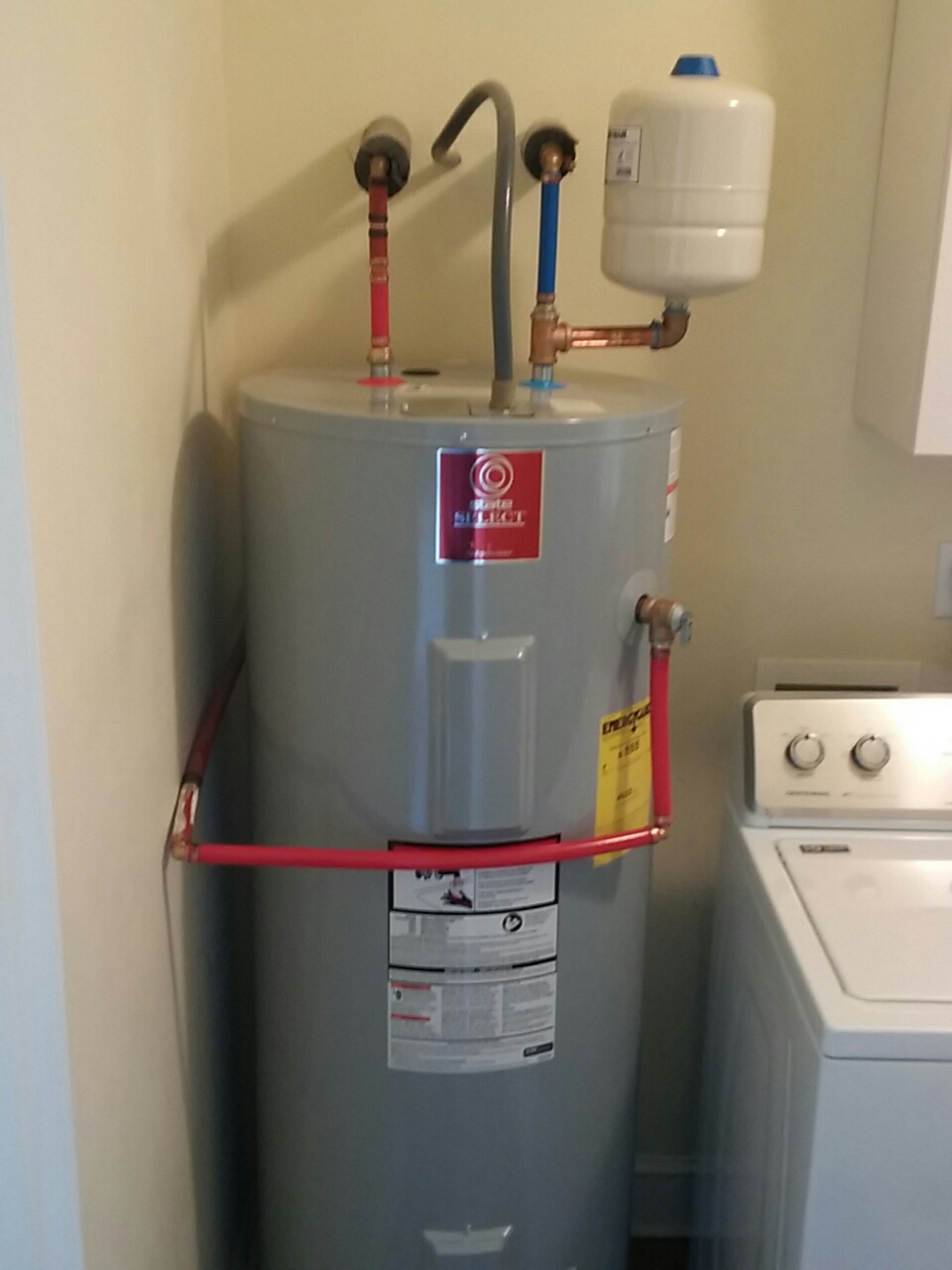 Edisto Island, SC - Replaced 50 gallon electric water heater