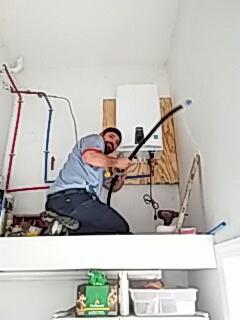 Moncks Corner, SC - Install Navien tankless water heater