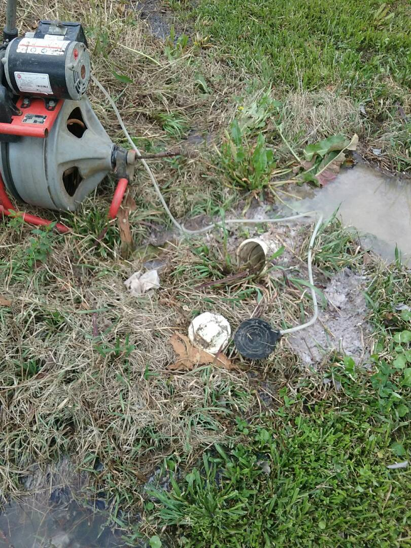 Ridgeville, SC - Unclogg sewer line