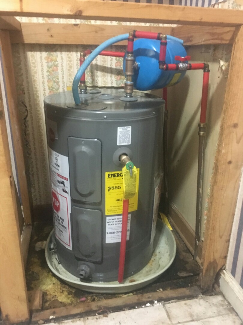 Replacing 30 gallon elect water heater