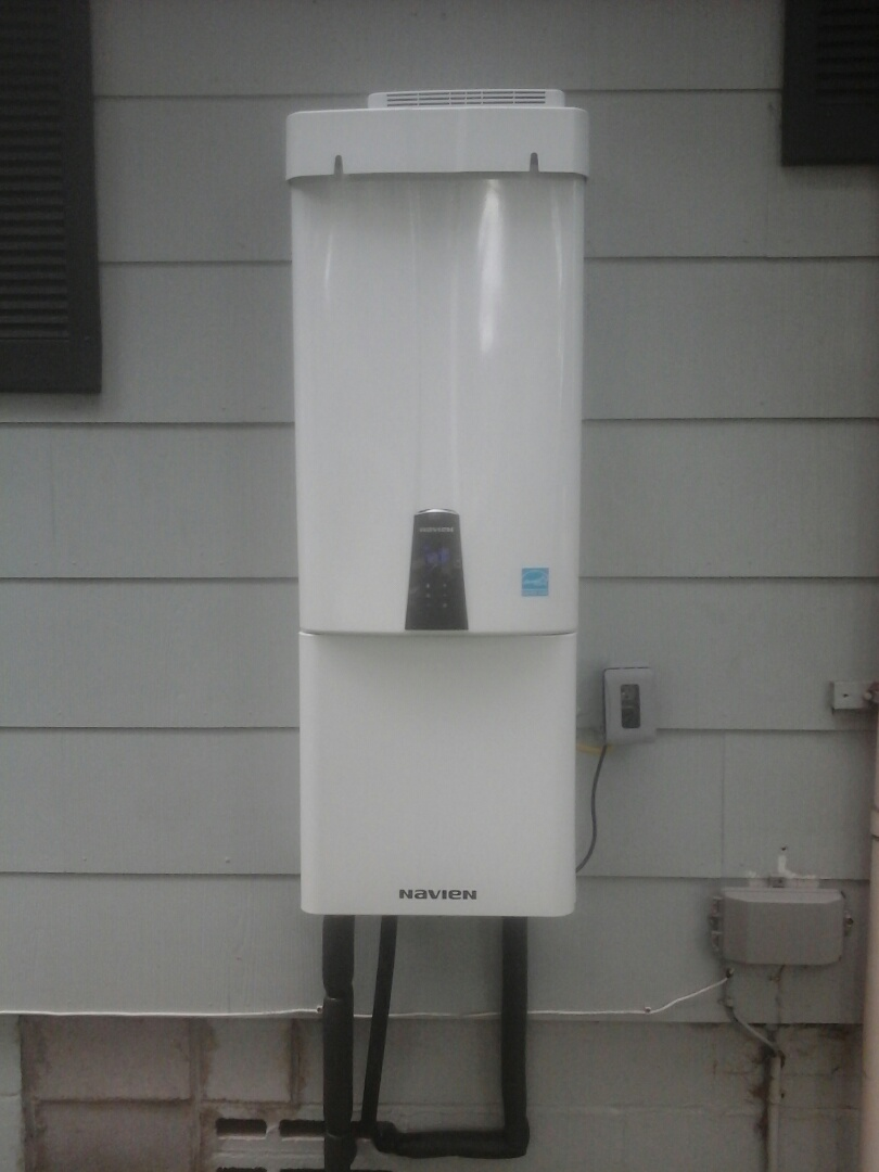 Ridgeville, SC - Installed navien tankless water heater