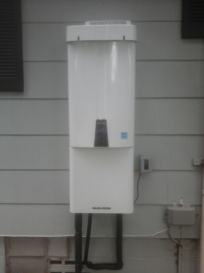 Ridgeville, SC - Installed navien tankless water heater