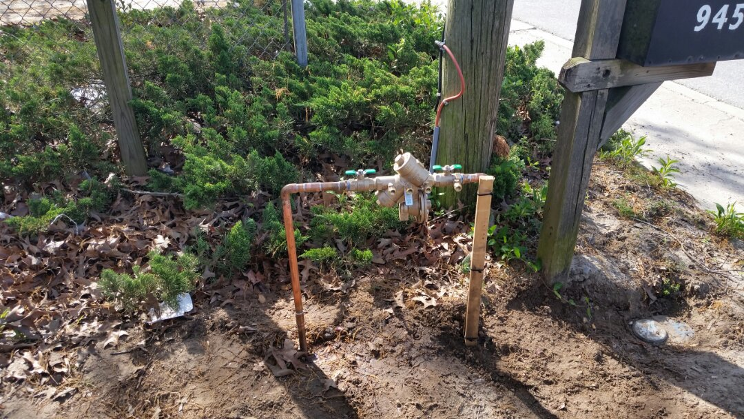 Ladson, SC - Installed new pr double check backflow