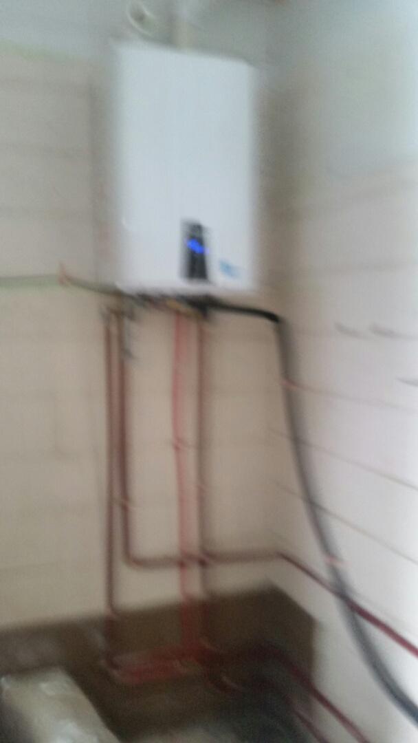 Hanahan, SC - Navien tankless install