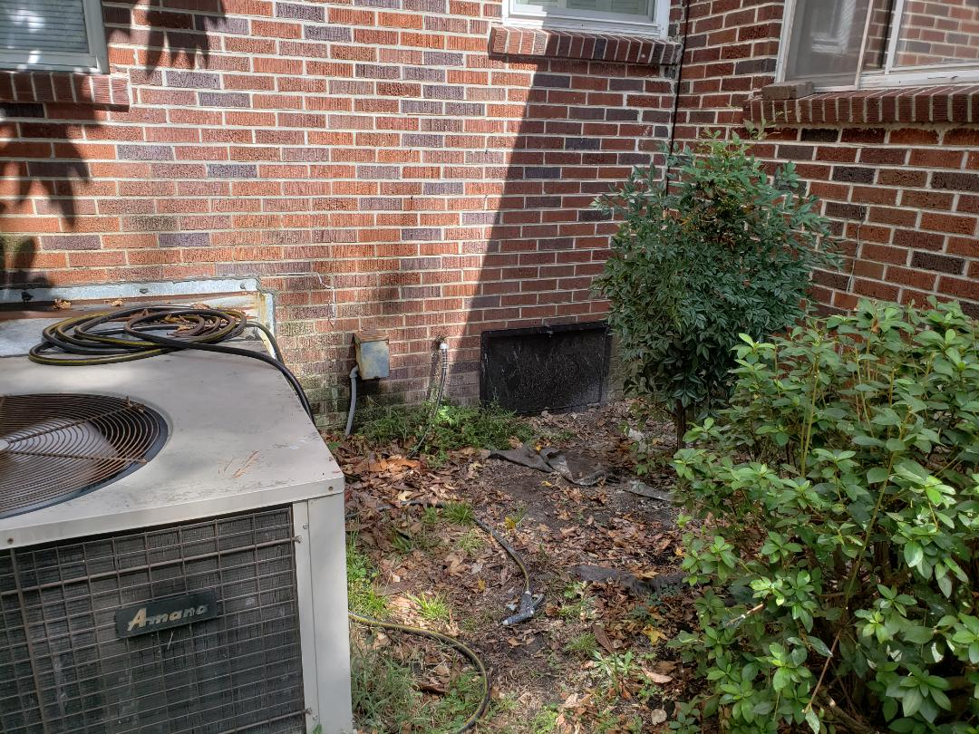 Charleston, SC - Estimate to replace cast iron sewer line under house