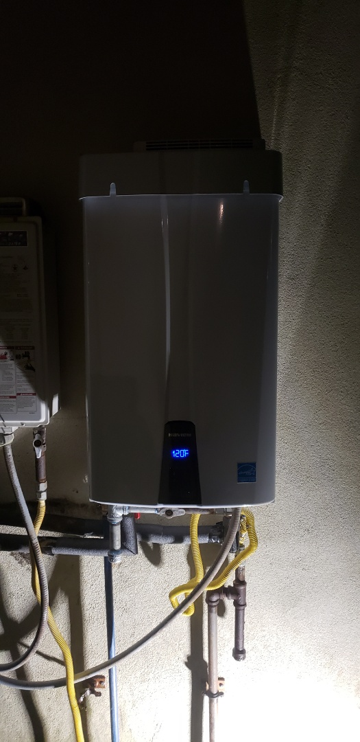 Charleston, SC - Installed new navien tankless water heater