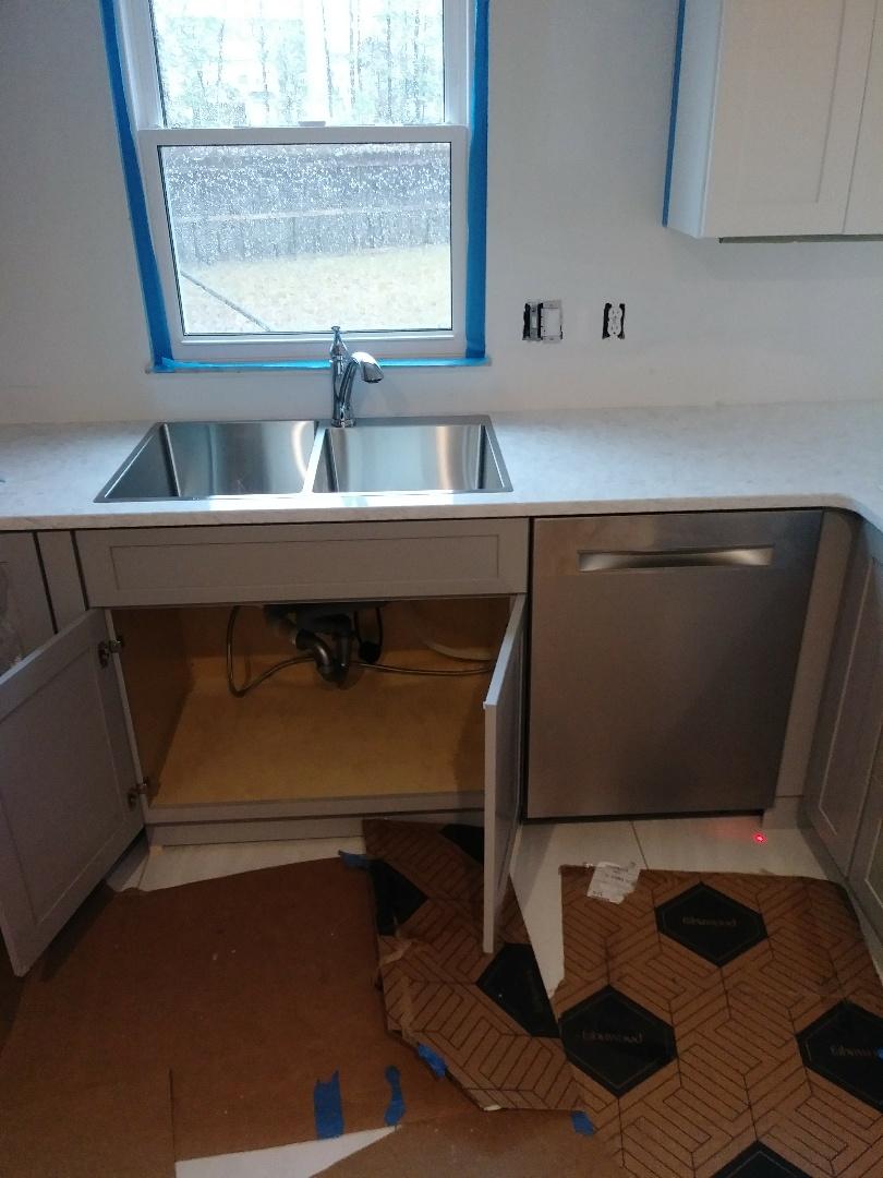 Charleston, SC - Install kitchen sink. Dish washer