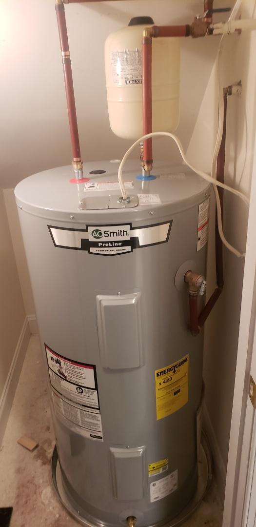 Charleston, SC - Replaced 50 gallon water heater