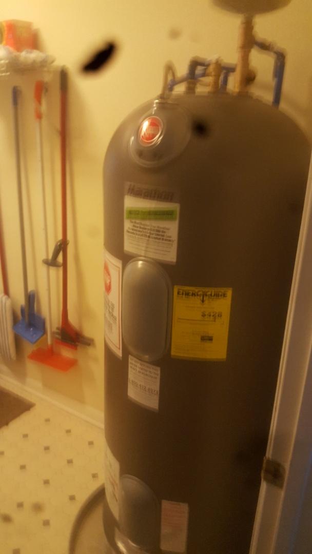 Summerville, SC - Installed new lifetime water heater