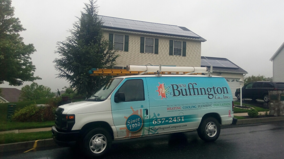 East Pennsboro Township, PA - Keeping a close eye on our customer's air conditioning system