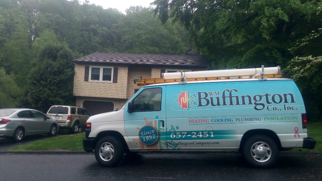 Goldsboro, PA - Keeping our customer's ductless mini split system functioning efficiently.