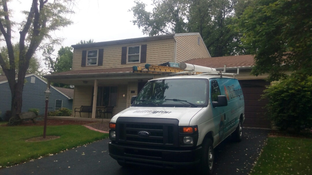 Camp Hill, PA - Keeping our customer's air conditioning system running efficiently and keeping them comfortable.