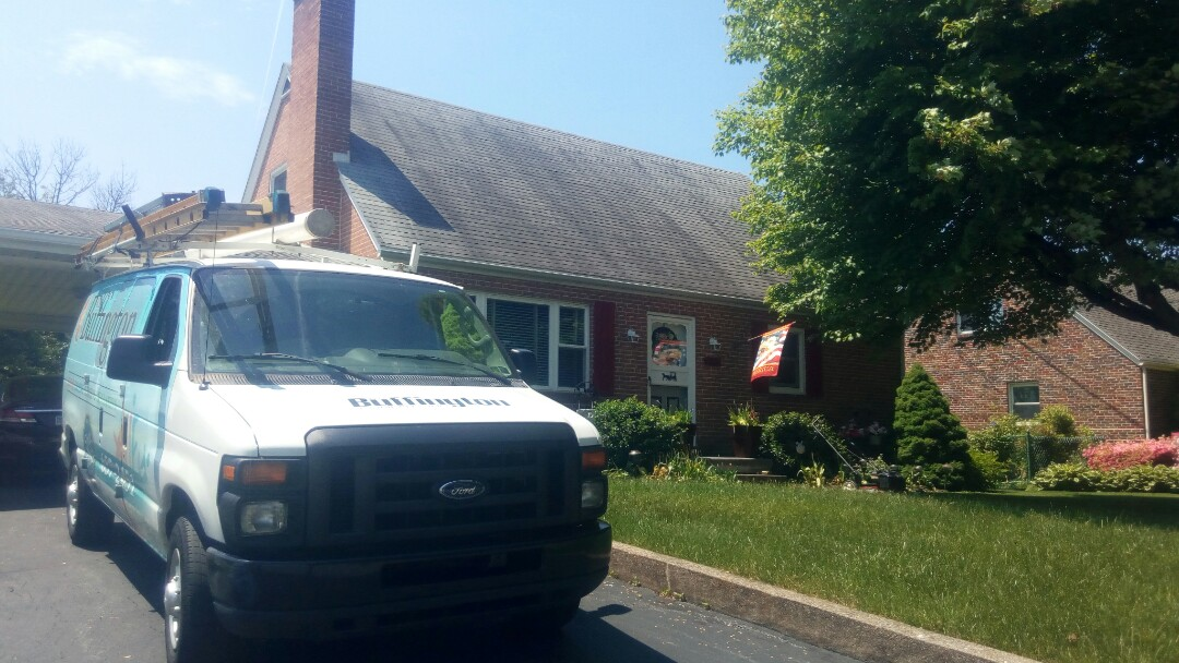Linglestown, PA - Performing our customer's planned maintenance visit and helping to keep their air conditioning system running efficiently.