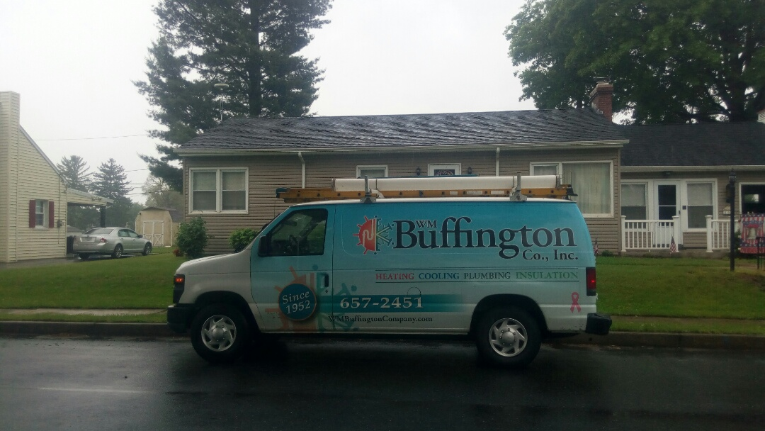 Middletown, PA - Taking care of our customer's air conditioning system.
