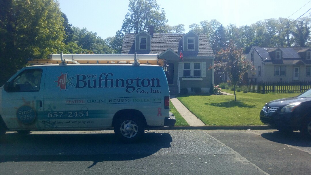 Harrisburg, PA - Keeping an eye on our customer's furnace and AC unit.