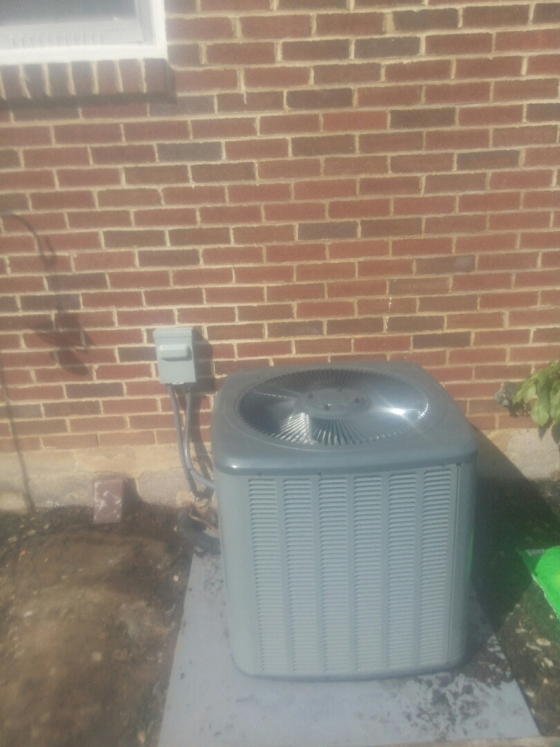 Dillsburg, PA - New air conditioning install
