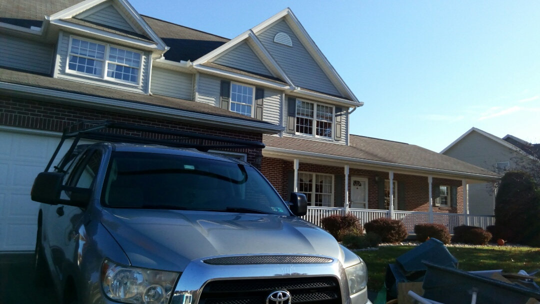 Mechanicsburg, PA - Performing a fall planned maintenance of the Bryant heat pump system.