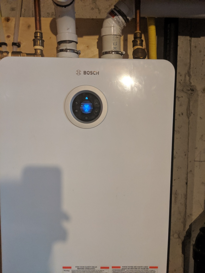 Guelph, ON - Service call to repair tankless water heater by Bosch