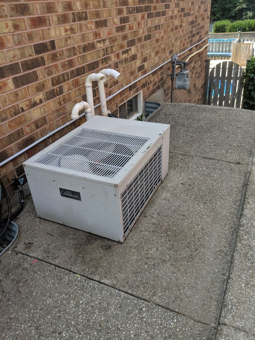 Guelph, ON - Service call to assess or repair 30+ year old air conditioner