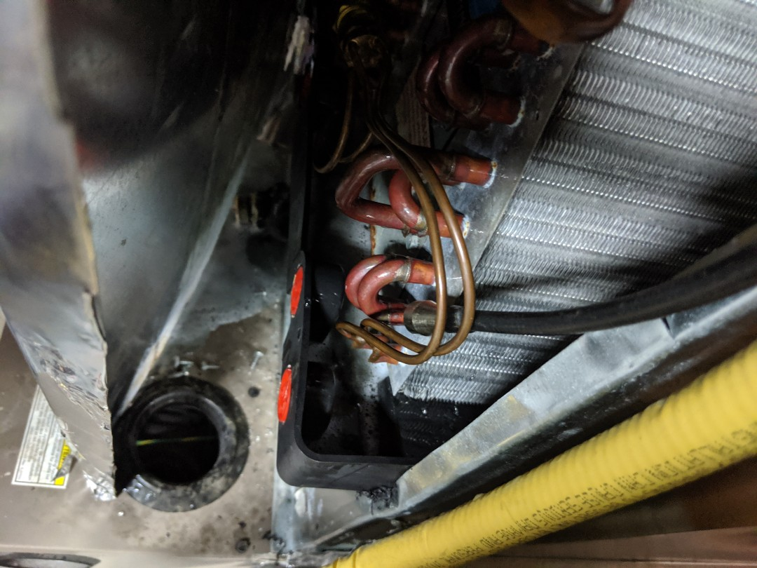 Guelph, ON - Leak Investigation to find a leak in a York air conditioner