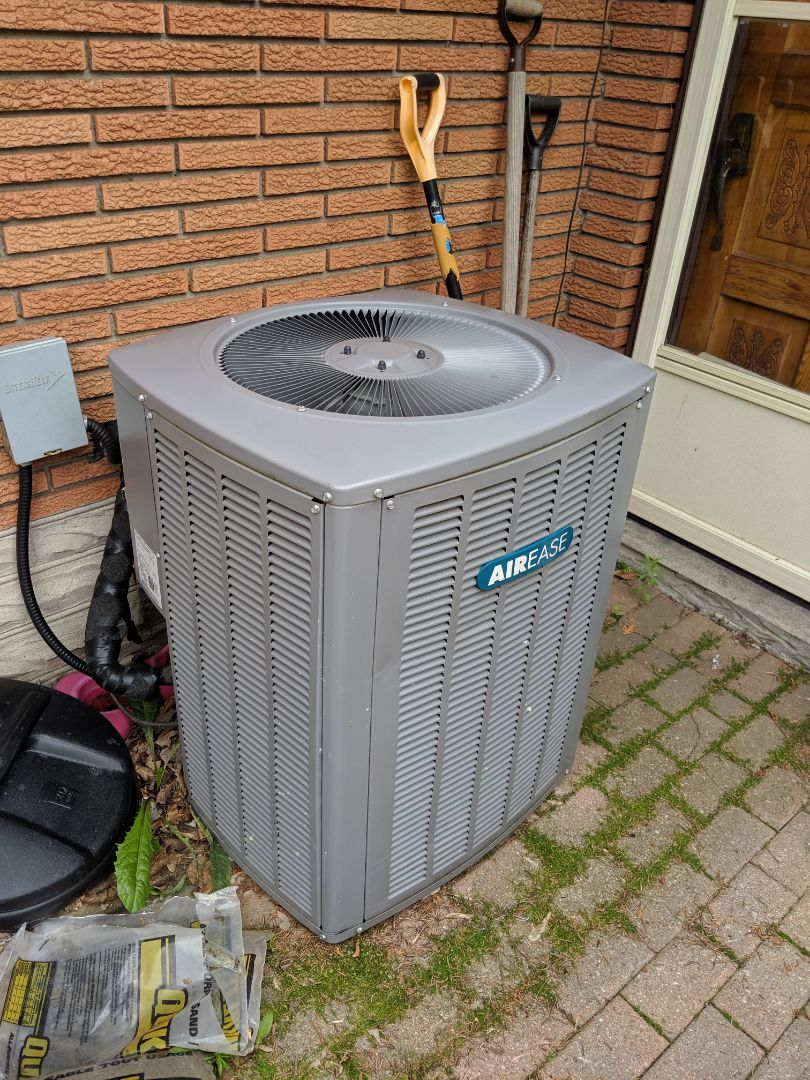 Guelph, ON - Service call to repair airease air conditioner