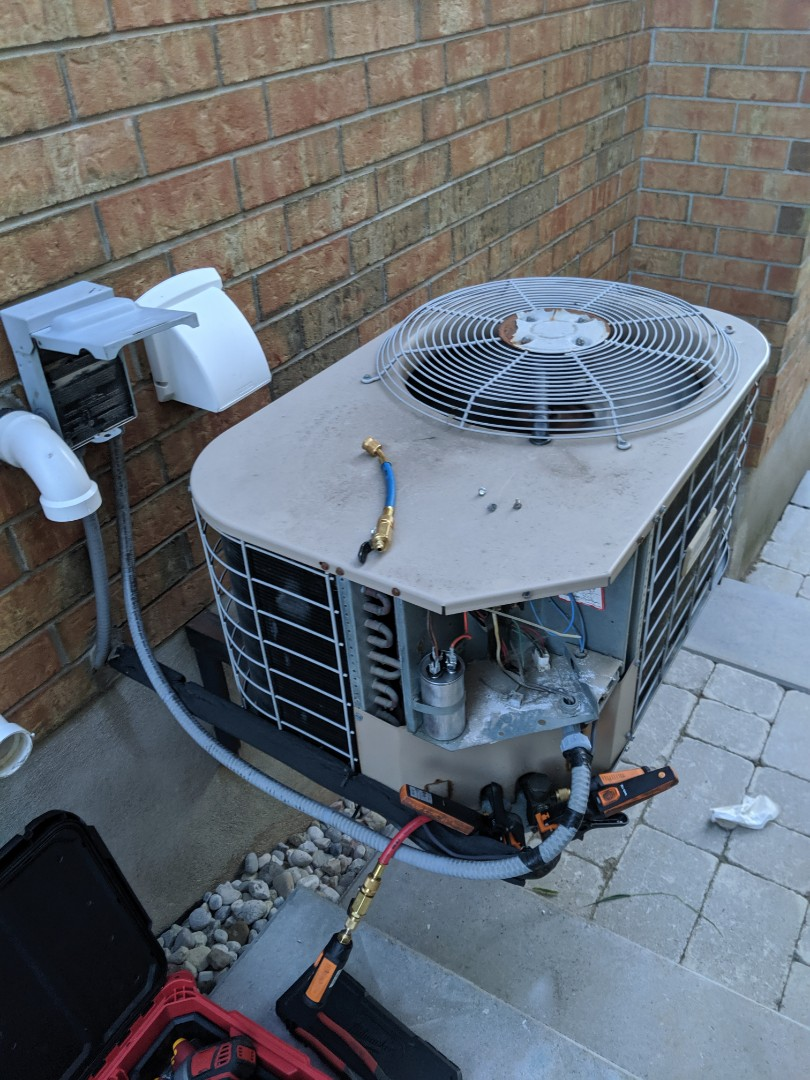 Service call to repair a York air conditioner