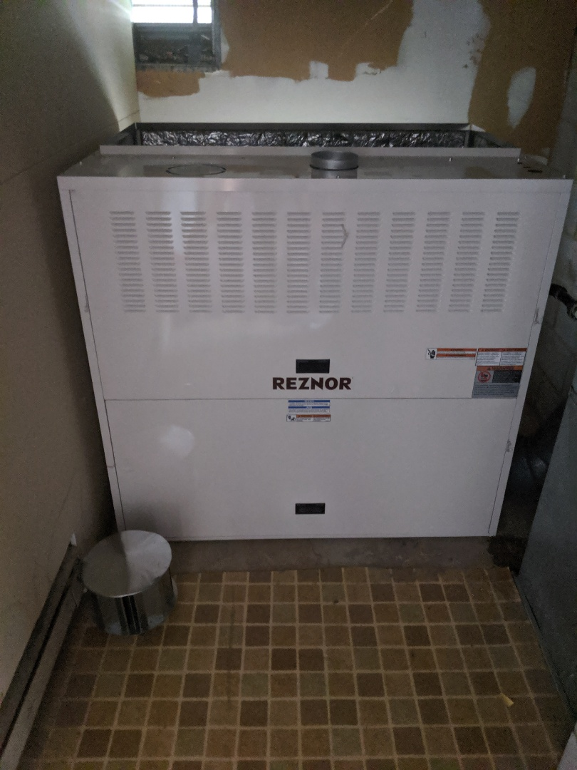 Kitchener, ON - Install replace Make up air unit MUA
