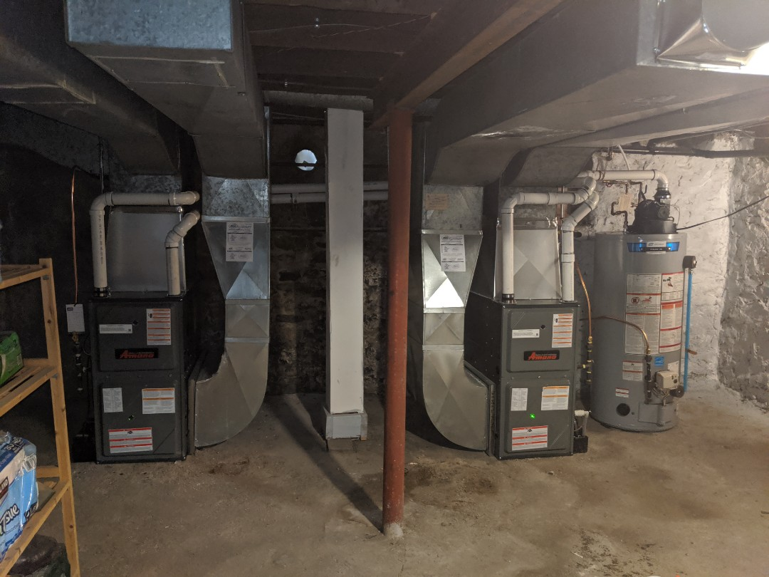 Guelph, ON - Install new Amana 2 stage furnaces with lifetime unit replacement warranty!
