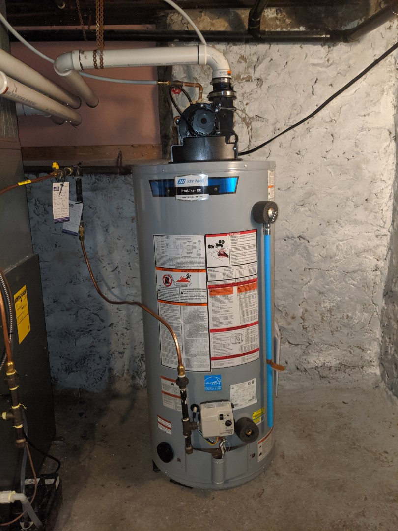 Guelph, ON - Install new water heater