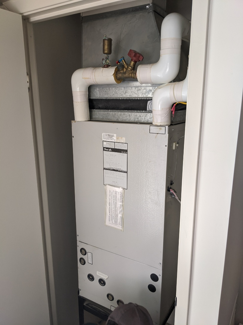 Kitchener, ON - Service call to repair First Hydronic Air Handler