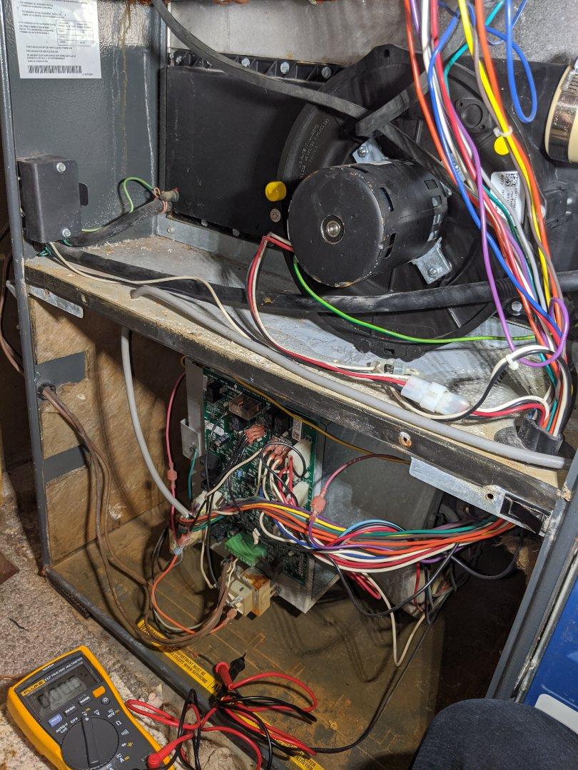 Service call to repair a Goodman furnace in Morriston, Puslinch