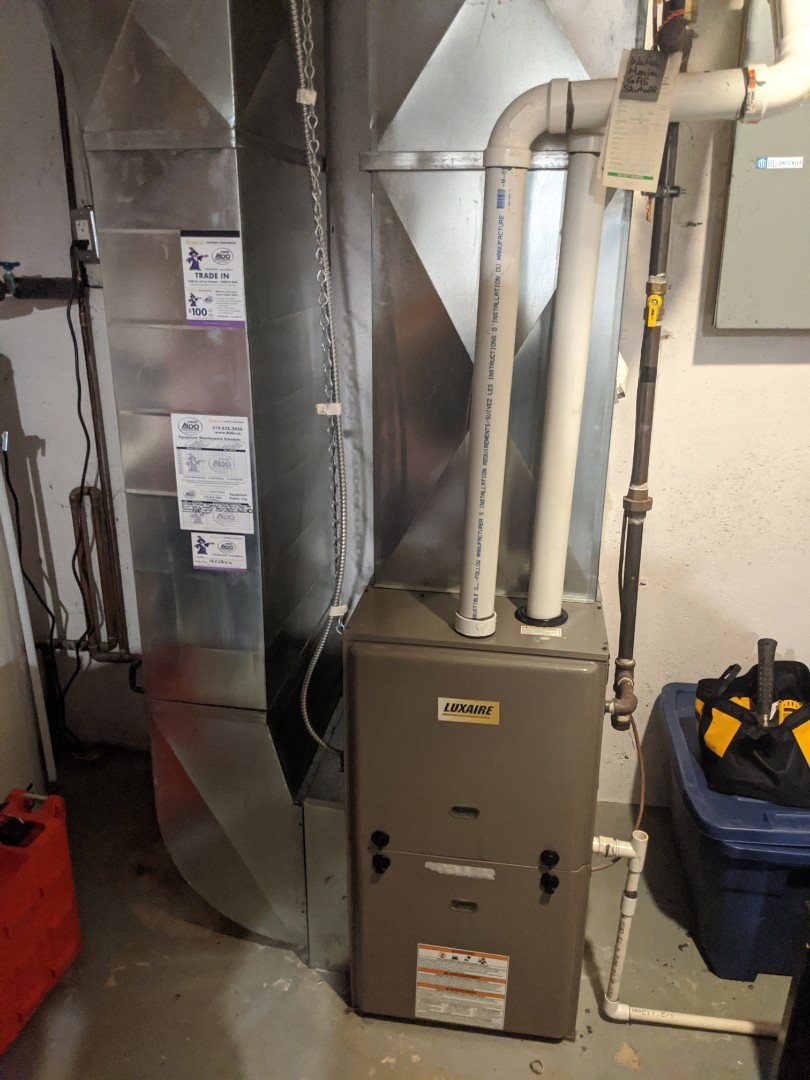 Service call for furnace repair in Cambridge.