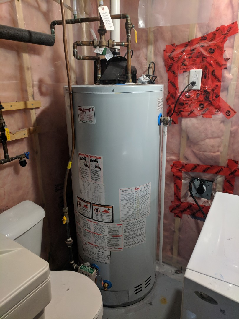 Guelph, ON - Service Call to repair a Giant Water Heater that had no hot water.