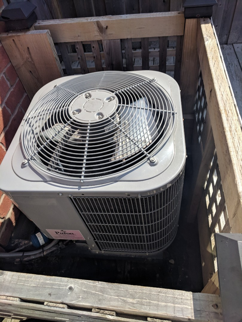 Milton, ON - Service call to replace the Evaporator Coil on a Carrier Air Conditioner