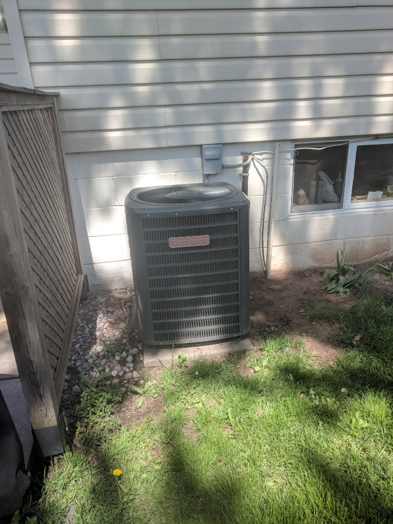 Burlington, ON - Service Call to repair Goodman Air Conditioner