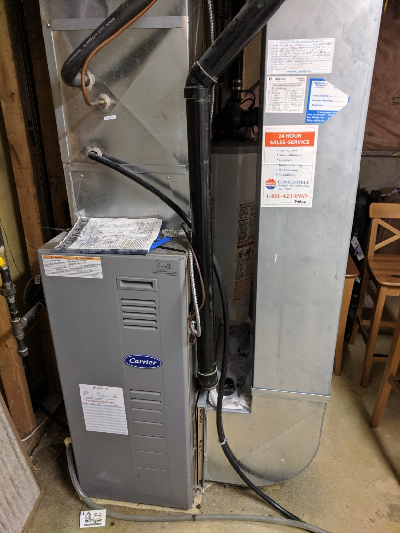 Milton, ON - Service Call to repair furnace