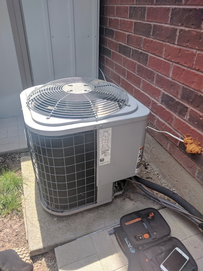 Milton, ON - Air conditioner repair for a Keeprite air conditioner