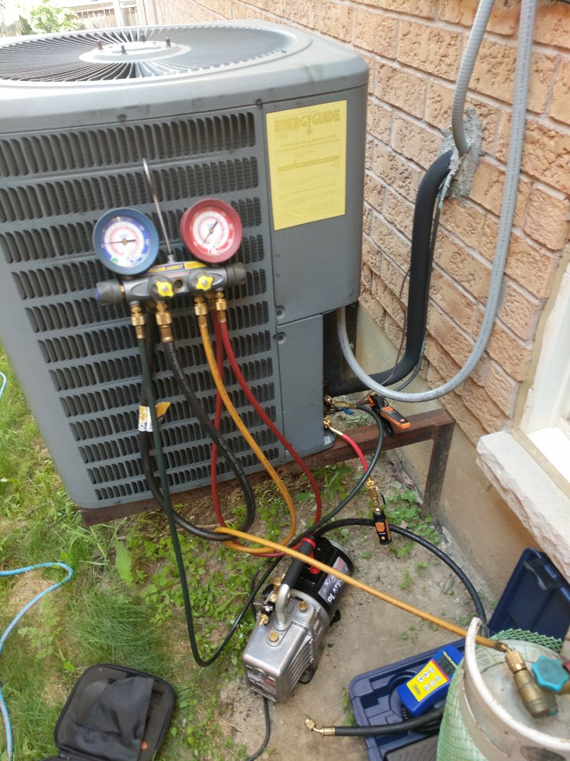 Georgetown, ON - Service Call to repair Goodman Air conditioner