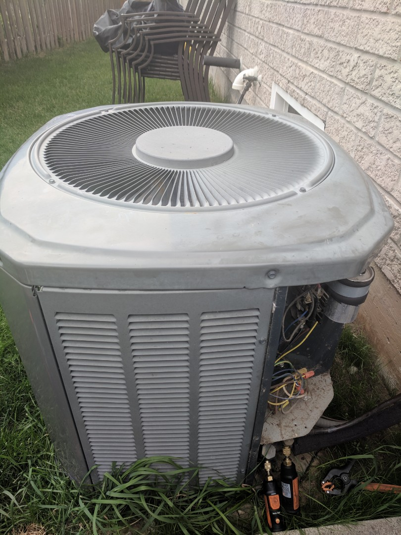 Milton, ON - Service call to repair a Trane Air conditioner