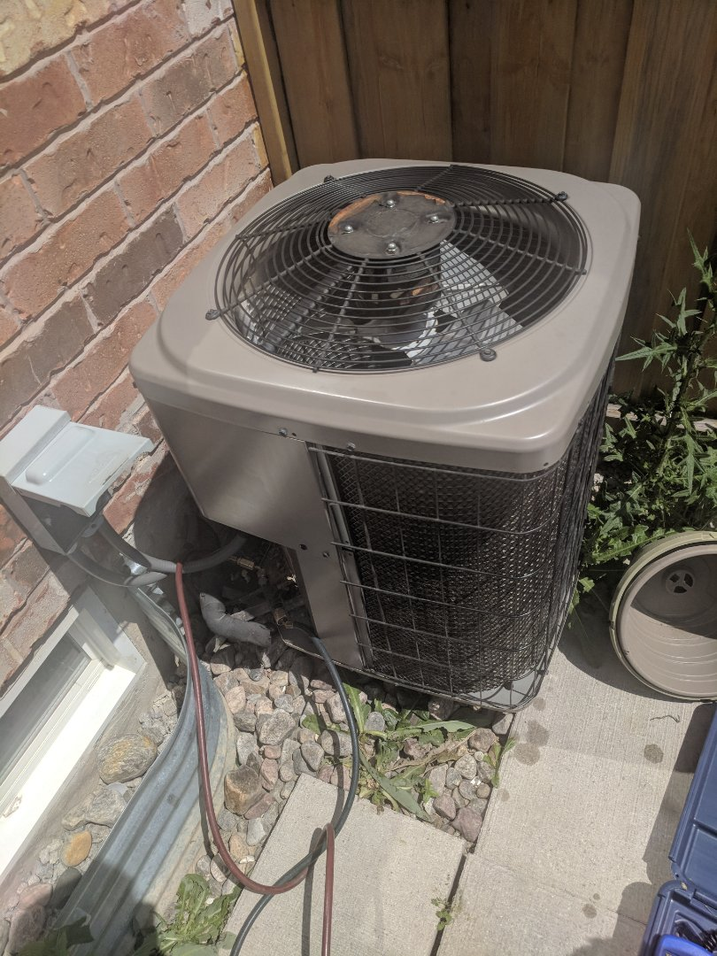 Milton, ON - Service call to repair York air conditioner